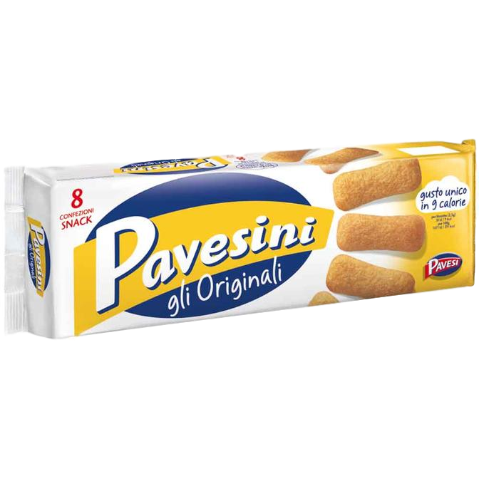 Original Classic Pavesini Snack Bundle from Italy by Pavesi  - 6 packs x 7 oz each