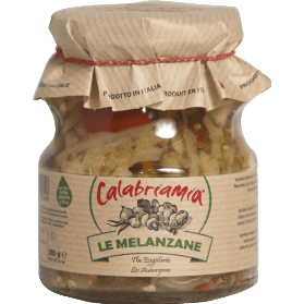CalabriaMia Sauces Eggplants with Extra Virgin Olive Oil by CalabriaMia - 10 oz