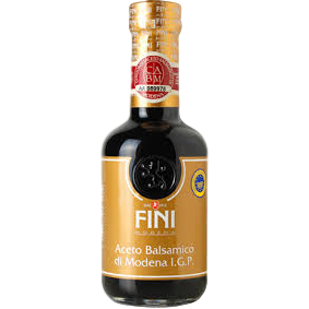 Balsamic Vinegar Gold Quality IGP by Fini - 8.45 fl oz - Italian Food Online Store