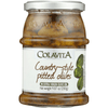 Country-Style Olives in Extra Virgin Olive Oil by Colavita - 9.87 oz. - Italian Food Online Store