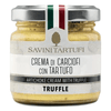 Artichoke and Truffle Purée (180 grams) by Savini - 6.35 oz
