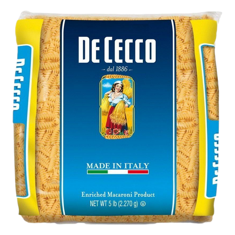 Penne Rigate Pasta Bulk #41 from Italy (4 packs x 5 lb) by De Cecco - 20 lb