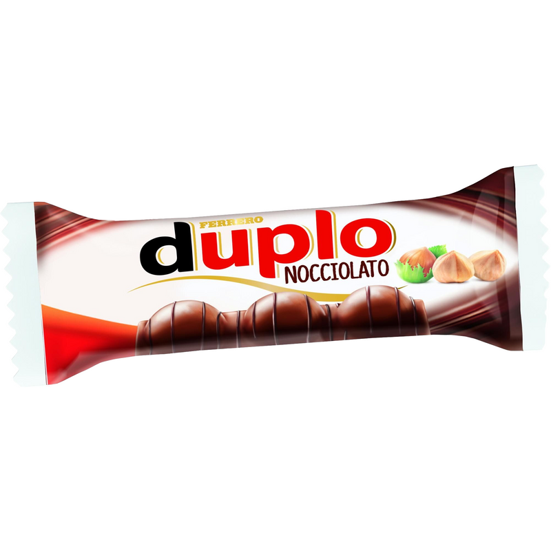 Duplo Chocnut Chocolate and Hazelnut (1 bar) By Ferrero - 0.9 oz. - Italian Food Online Store