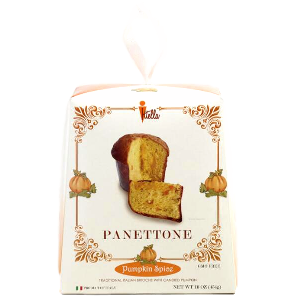 Pumpkin Spice Panettone Traditional Italian Oven Baked