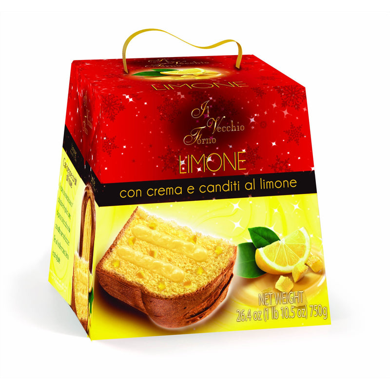 Classic Panettone Oven Baked Cake by Bauli - 2.2 lb