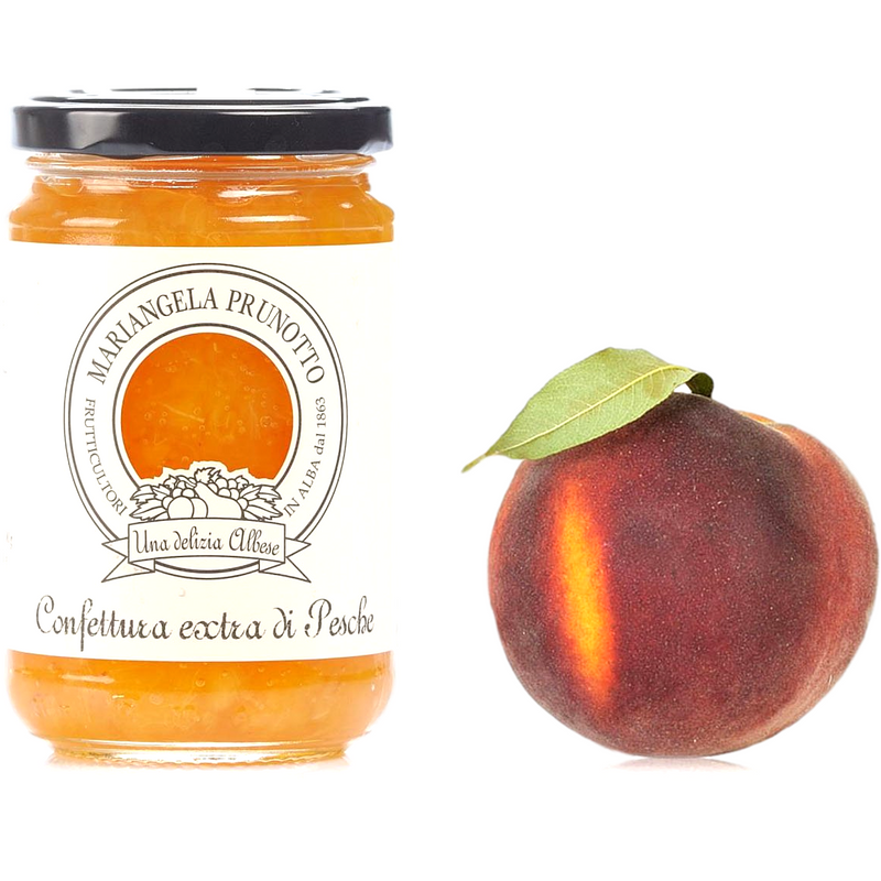 Mariangela Prunotto Jam Peach Extra Jam by Prunotto - 7.5 oz.