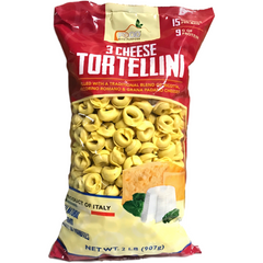 Mariella Gnocchi Default Title Tortellini filled with 3 kinds of Cheese by Food with Purpose - 2 lb.