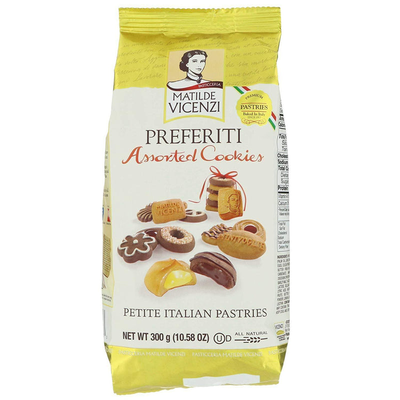 "Assorted ""Preferiti"" Cookies by Vicenzi - 10.52 oz. - Italian Food Online Store"