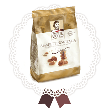 Crunchy Little Amaretto Cookies by Vicenzi - 3.52 oz. - Italian Food Online Store