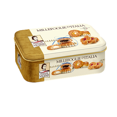 Matilde Vicenzi Sweet Bakery Puff Pastry Millefoglie Assorted Pastries by Vicenzi - 8.46 oz.