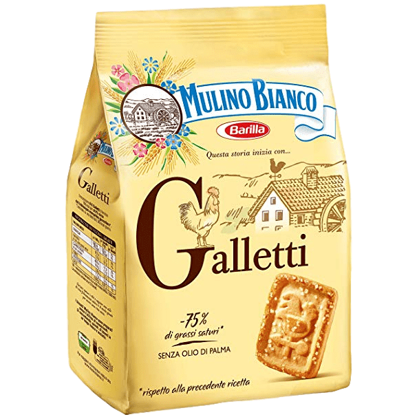Mulino Bianco Cookies Gallette Cookies by Mulino Bianco - 12.3 oz.