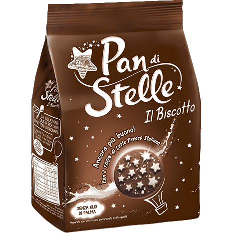 Pan di Stelle Cookies Bulk by Mulino Bianco - 12 packs x 12.3 oz each