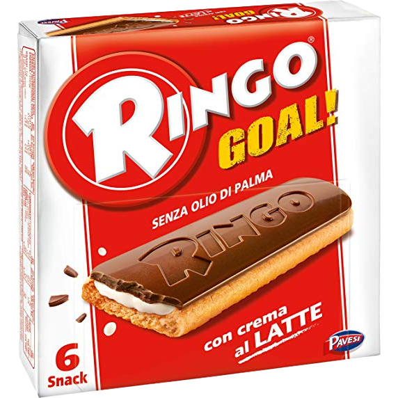 Mulino Bianco Cookies Ringo Goal Cookies with Vanilla by Ringo - 0.98 oz.