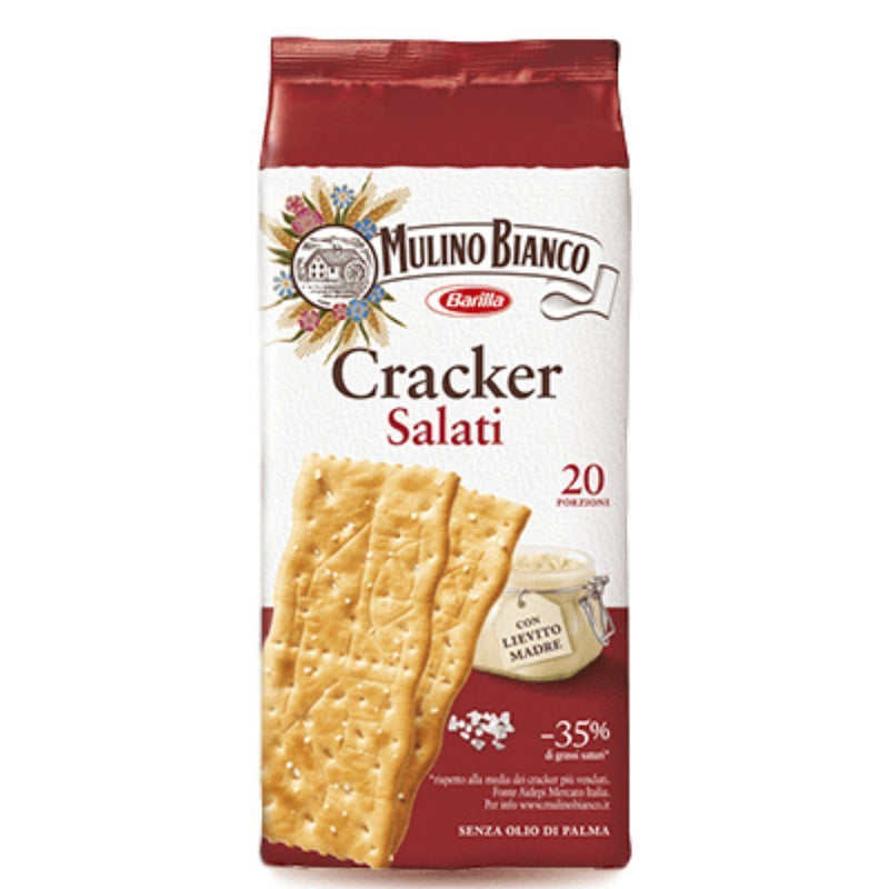 Mulino Bianco Salted Bakery Salted Italian Crackers by Mulino Bianco - 17.63 oz.