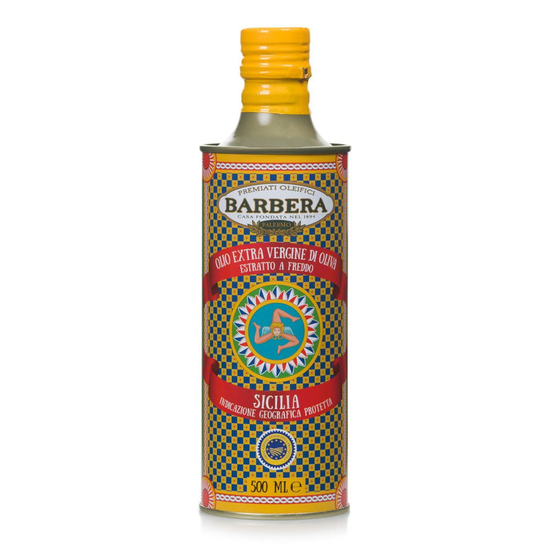 "Extra Virgin Olive Oil PGI ""Sicilia"" processed with Cold Extraction by Barbera  - 16.9 fl oz"