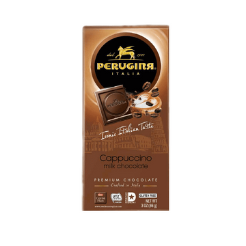 Capuccino Milk Chocolate Bar by Perugina - 3 oz - Italian Food Online Store