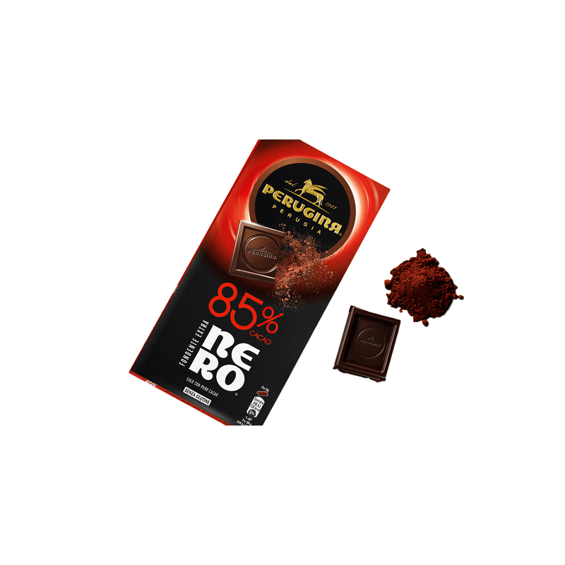 Extra Dark Chocolate 85% Cacao Bar by Perugina - 3 oz.