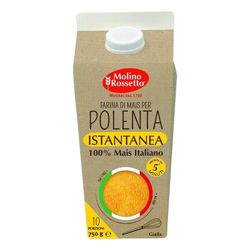 Maize Flour for Instant Yellow Polenta by Molino Rossetto - 1.65 lb