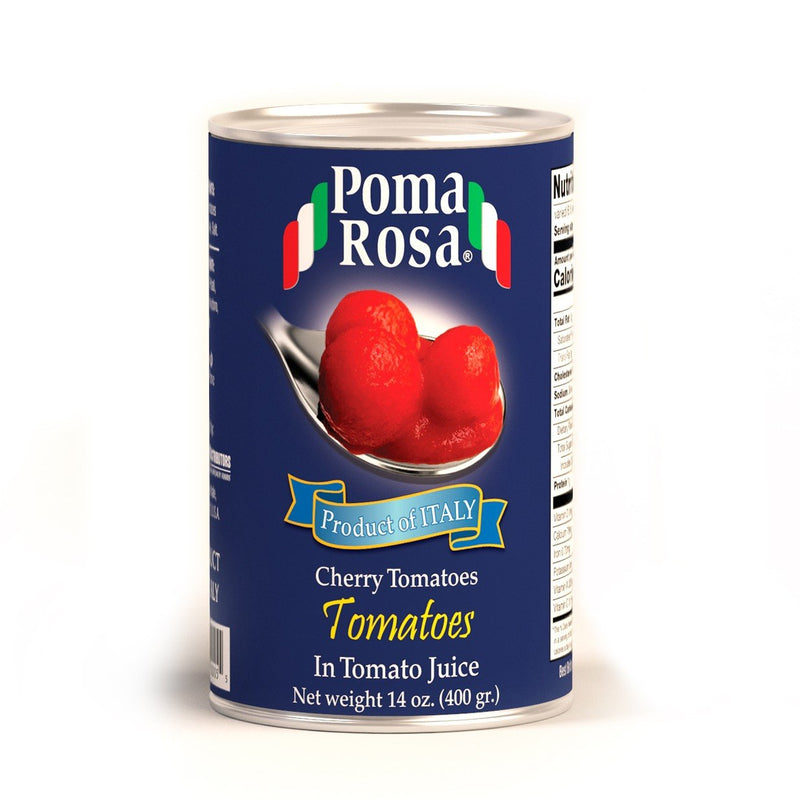 Cherry Tomatoes in Tomato Juice by Poma Rosa - 14 oz