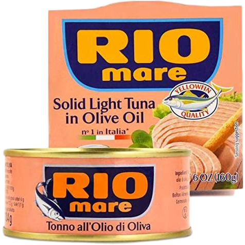 Rio Mare Meat, Poultry & Seafood Rio Mare Tuna Fish Imported From Italy - 3 x 3 Oz