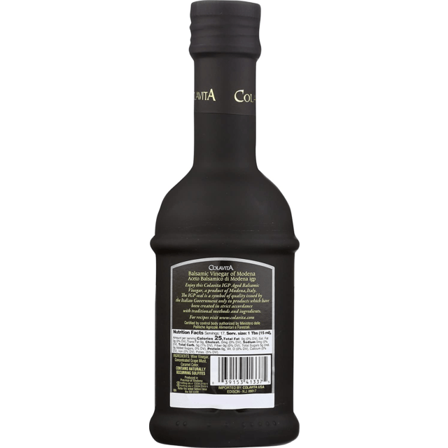 Aged Balsamic Vinegar of Modena (250 ml) by Colavita - 8.5 fl oz
