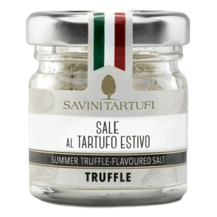 Sea Salt with Summer Truffle (100 grams) by Savini - 3.45 oz