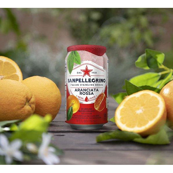 San Pellegrino San Pellegrino Limonata Sanpellegrino Italian Sparkling Blood Orange Beverage, 11.15 fl. oz. x 12 (Pack of 12)