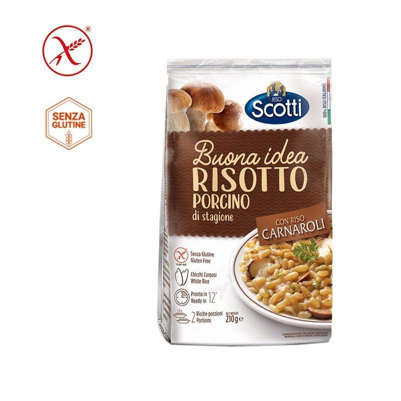 Carnaroli Rice 18 Months Aged (850 grams) by Scotti - 1.87 lb