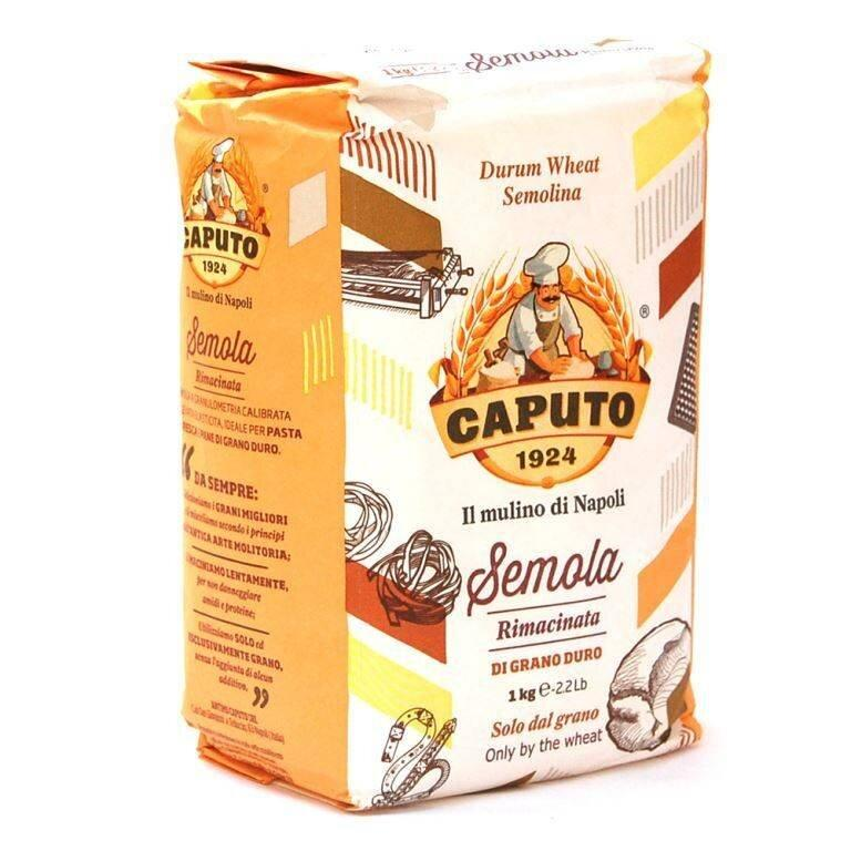 Durum Wheat Semolina Flour by Antimo Caputo - 10 packs x 2.2 lb