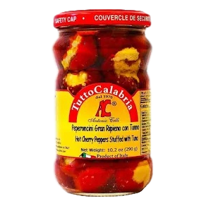 Calabrian Chili Peppers by Tutto Calabria - 10.2 oz. - Italian Food Online Store