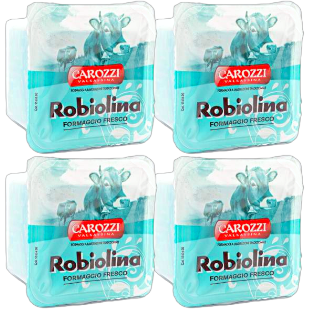 Robiolina Fresh Cheese from Italy by Carozzi - 4 pieces x 3.5 oz