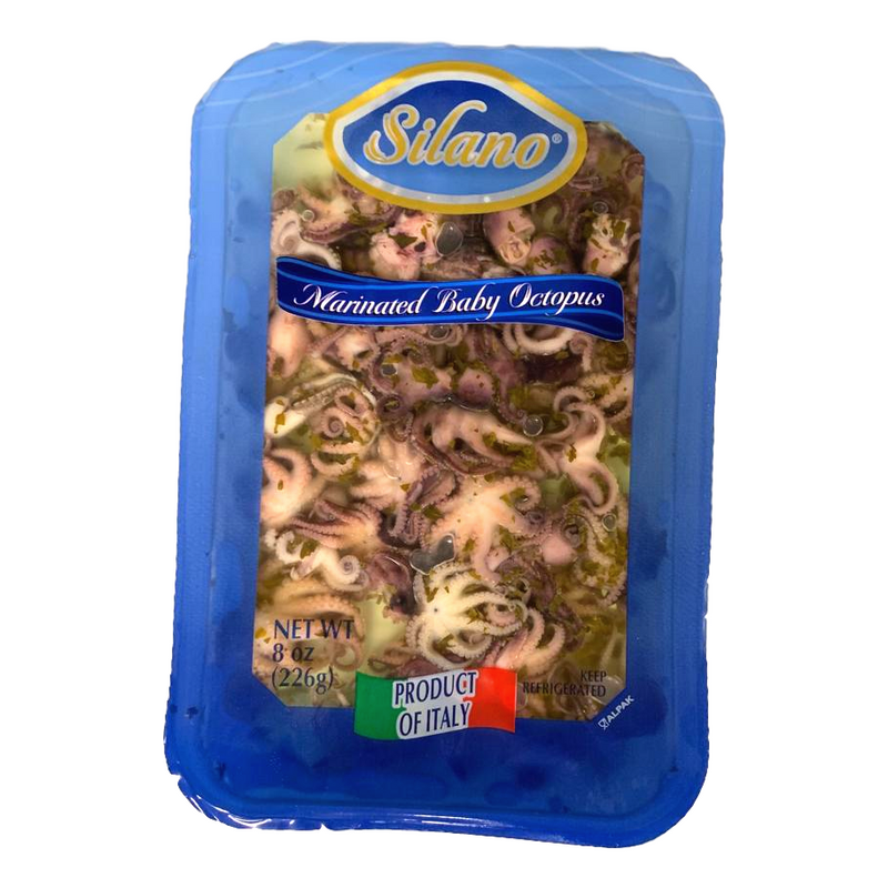 Silano Meat, Poultry & Seafood Marinated Baby Octopus from Italy by Silano - 8 oz