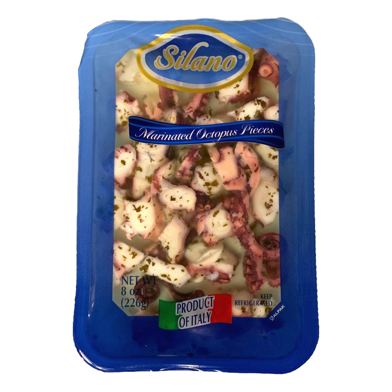 Silano Meat, Poultry & Seafood Marinated Octopus Pieces from Italy by Silano - 8 oz