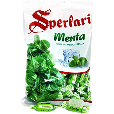 Icy Mint Hard Candy (Caramelle) by Sperlari - 17.64 oz - Italian Food Online Store