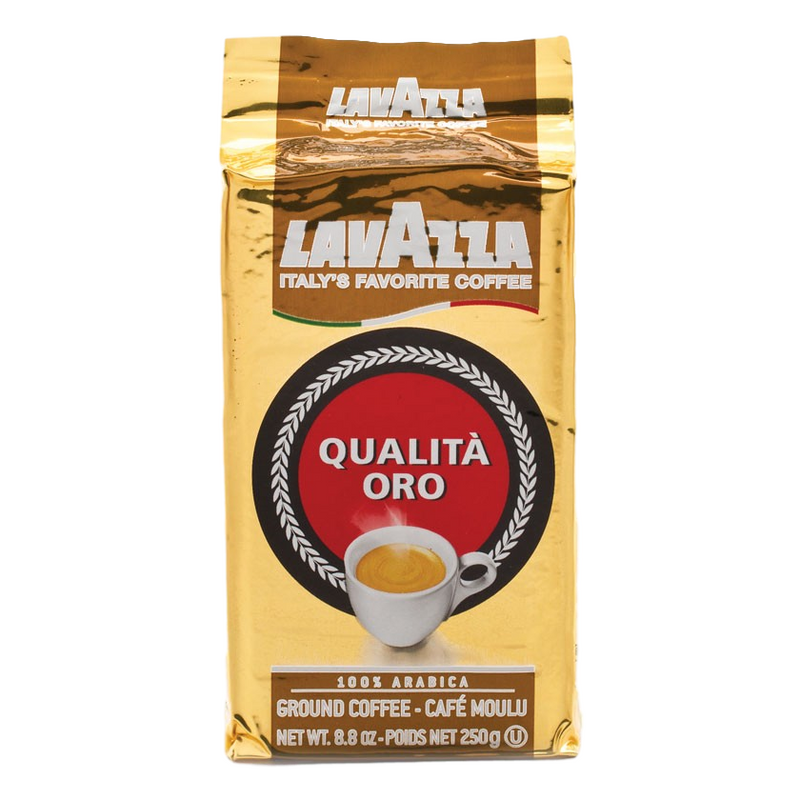 Lavazza Caffe Espresso | Ground Coffee Tin by Lavazza - 8 oz.