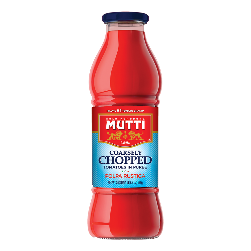 "Coarsely Chopped Tomatoes in Puree ""Passata"" (690 grams) by Mutti - 24.3 oz"