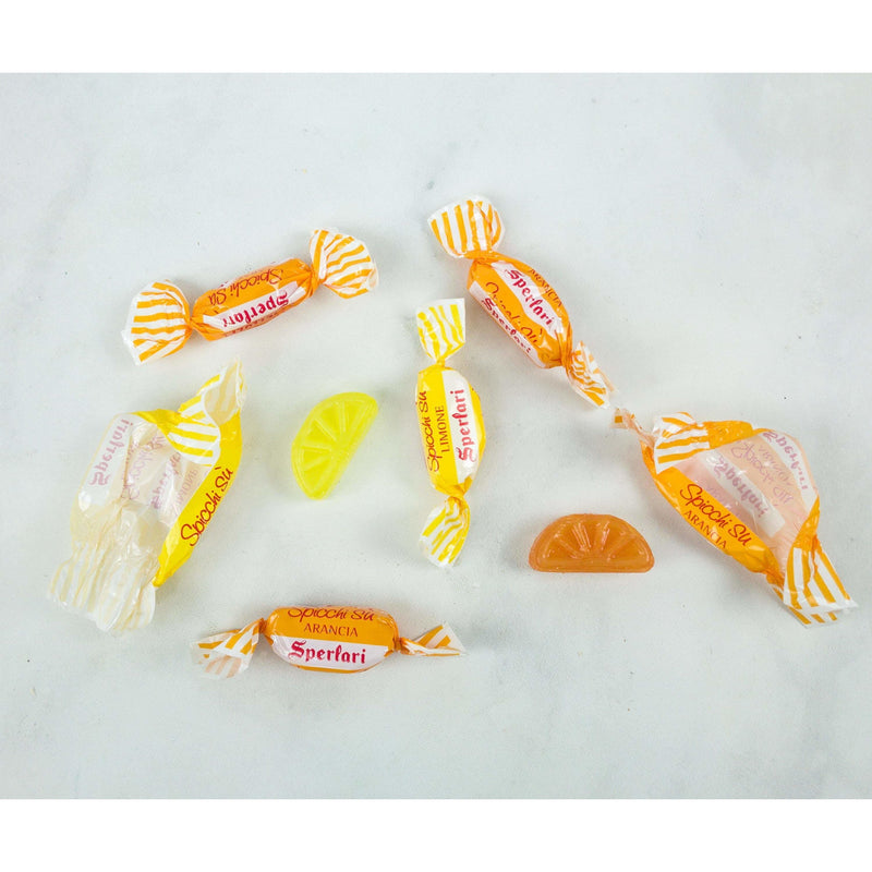 Citrus Hard Candy Lemon & Orange Flavor (Caramelle) by Sperlari - 17.64 oz