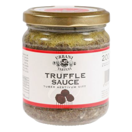 Sea Salt with Porcini Mushrooms & Garlic in Glass Grinder (80 grams) by Borgo de' Medici - 2.8 oz