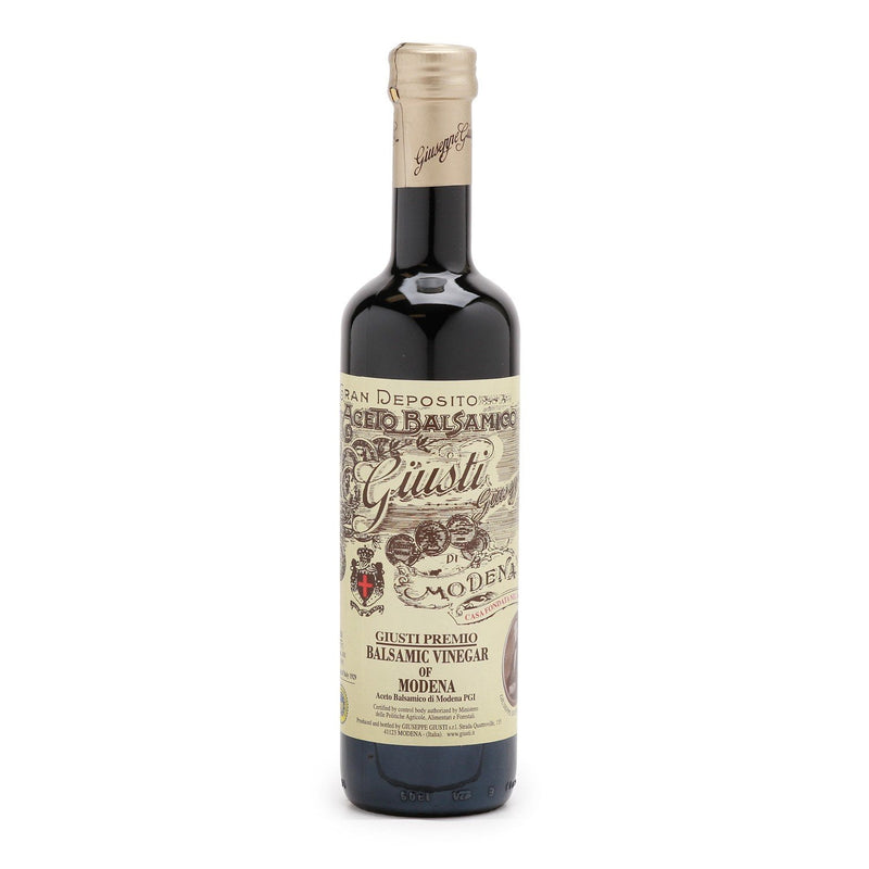 "Balsamic Vinegar of Modena ""1 Silver Medal"" (Italy) by Giusti - 8.45 fl oz"