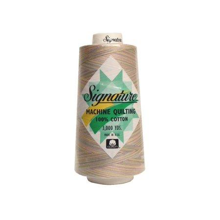 Signature Quilting Thread Variagated Pastels
