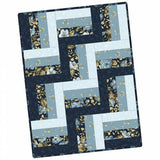 Maywood Rail Fence precut Quilt Kit English Country Side