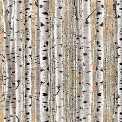Timberland Trail Birch Trees on Tan