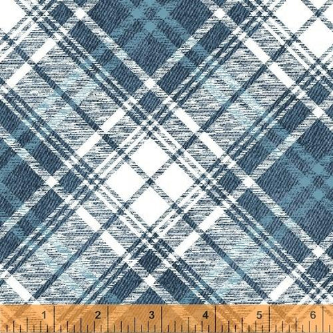 Gina Blue Plaid