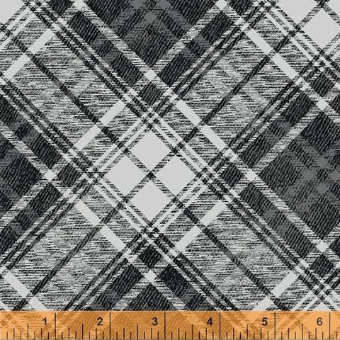 Gina Gray black white Plaid