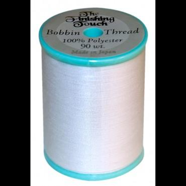 The Finishing Touch 90wt. Bobbin thread White