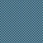 Kimberbell Make Yourself At Home Blue Houndstooth Geometric Print