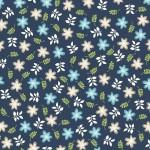 Kimberbell Make Yourself At Home Floral Blue on Blue
