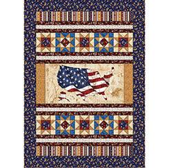 American Pride Fabric Standing Pround Pattern
