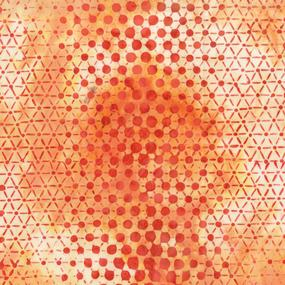 Pop Dot Batik Orange