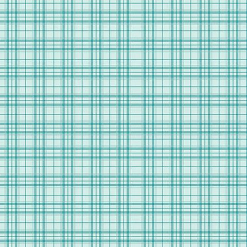 Home Grown Teal Plaid